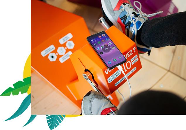 ILO propose une solution alternative et ludique aux élèves pour recharger un smartphone dans leurs établissements scolaires