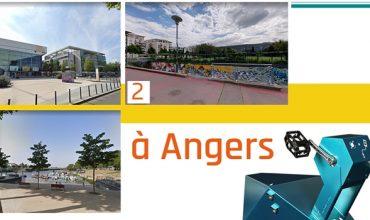 Présentation de l'installation des bornes de recharge USB ILO à Angers