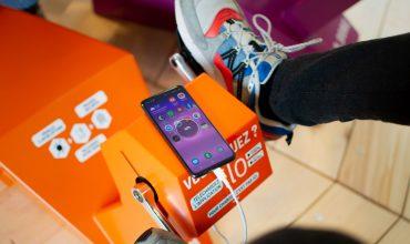 téléphone vélo chargeur