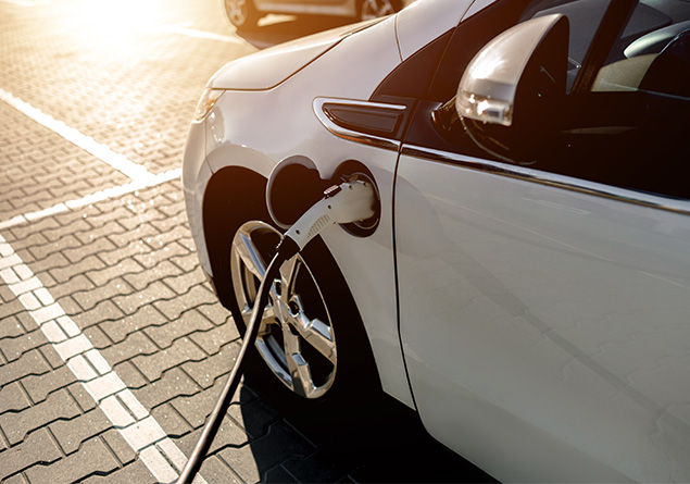 borne de recharge de véhicules électriques