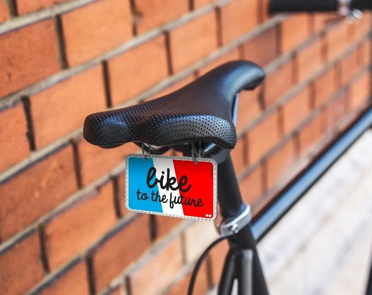 Plaque vélo V-loplak